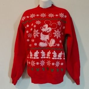 Sweaters - Disney Mickey mouse holiday Christmas sweatshirt